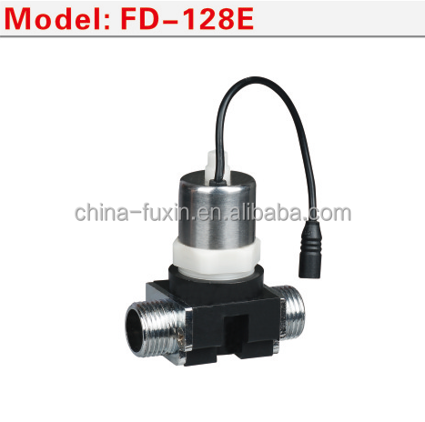 auto infrared sensor sanitary parts flow control plastic 6v latching water plastic solenoid power valve