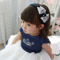 New Arrival Children Hair Accessories Double Color Prismatic Toddle Hair Bands For Kids Wear HA40827-42