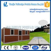 Smart advanced Prefab container house foldable for oil field and mineral industry