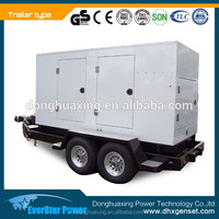 Electric power Deutz engine (BF6M1015-LA GA) 225kva portable diesel generator for sale