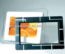 Modern acrylic photo frame,Clear acrylic photo frame