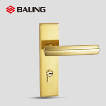 SF0709 exquisite lever handle toilet lock grill door lock with best electroplating quality