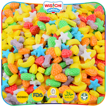 Professional production bulk colorful various cute shapes yummy flavor pressed tablet candy