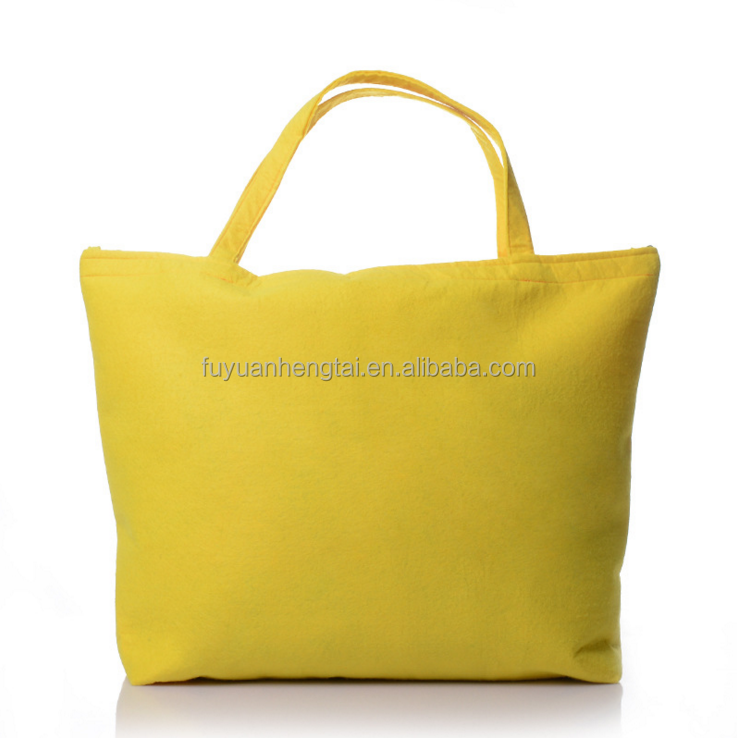 Fashion felt shopping bag for woman alibaba online shopping wholesale.