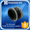 ductile iron flange pipe fitting sinlge flexible rubber pipe coupling