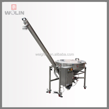 High quality free tool installation dismantle powder screw feeding conveyor auger filler easy clean