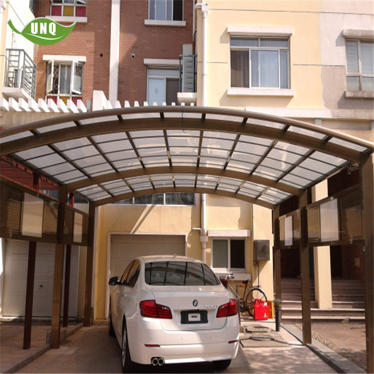 Manufacture High-quality Durable Aluminium/Solid PC Carport/Garages