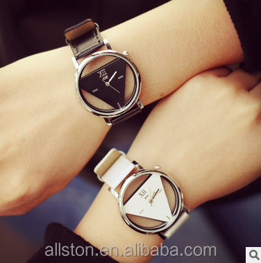 Woman Wrist Leather Alli Baba Com Movt Quartz Clock Jewelry Fancy Watch Lady