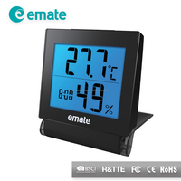 1 year warranty table temperature and humidity gauge