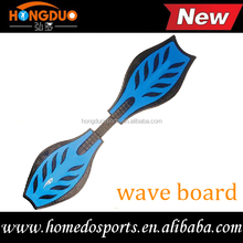 ABS material land wave board,two wheel skateboard