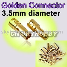 3.5mm Gold Bullet Connector(10pairs)