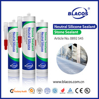 Neutral rubber to steel tile adhesive glue