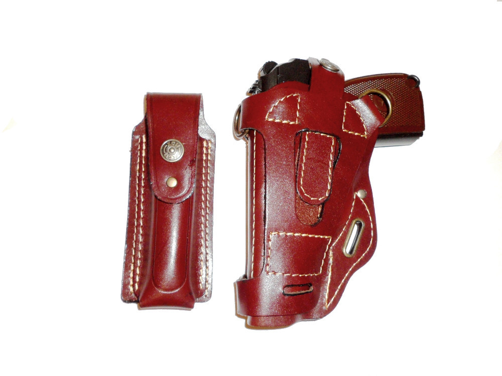 Shoulder tactical gun holster with magazine pouch COLT1911, Makarov, Walther PPK, Bersa Thunder 1001*