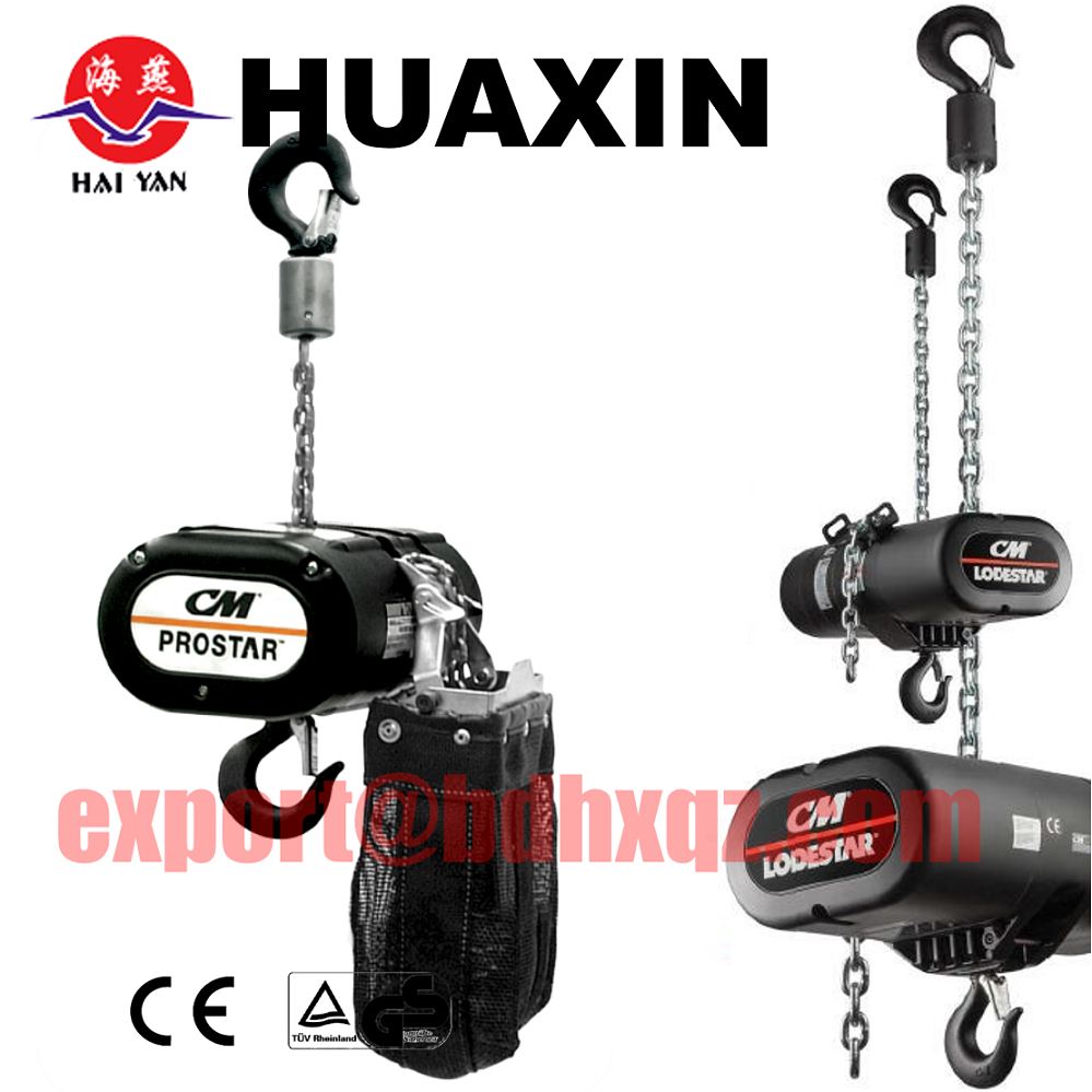 lifting stage/Electric Winch/chain pulley block mechanism