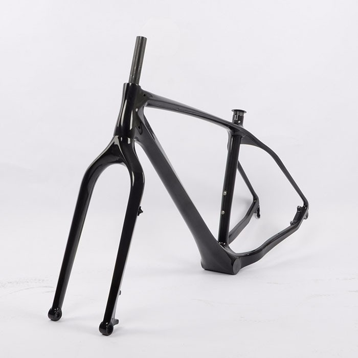 Top quality! super light weight fat bike frame 3K/UD , fat tire 26er carbon fiber fat bike frame