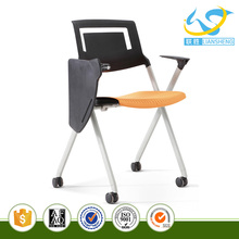 Plastic Modern Computer Office Chair Cover with Easy Connecting Chairs and Tablet