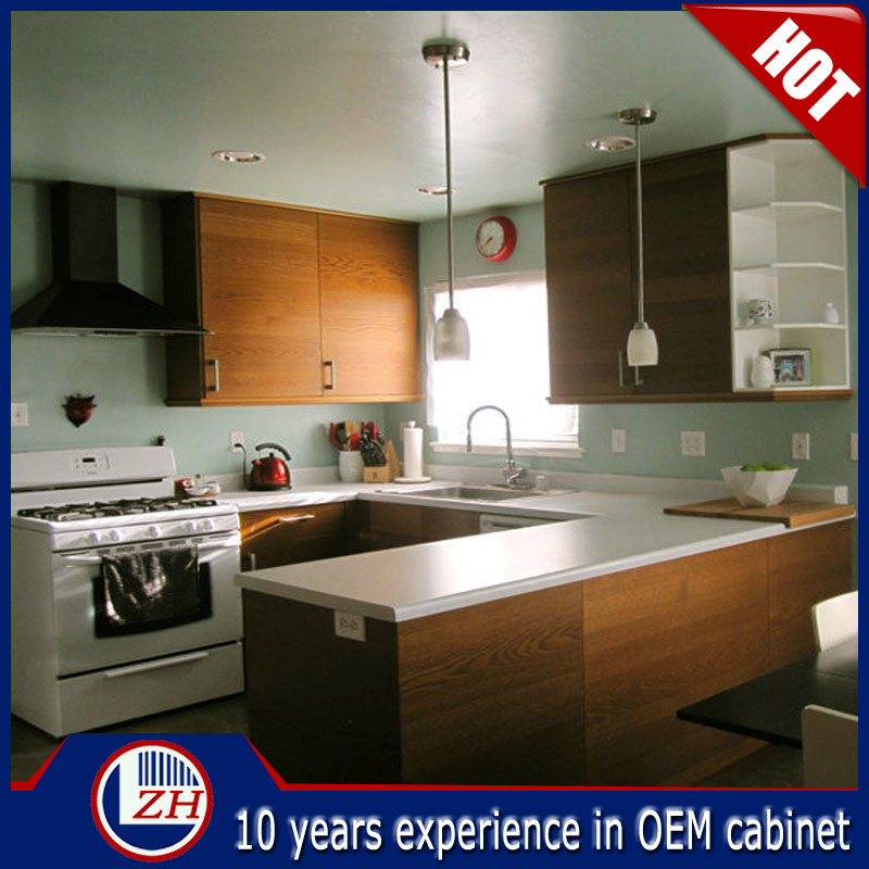 high quality import new model prefab kitchen cabinet