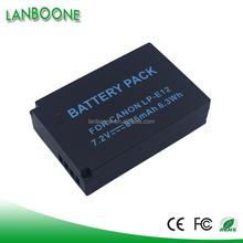 Factory sale Camera Battery Pack 7.4V 820mAh LPE12 LP-E12 fit for Rebel T3