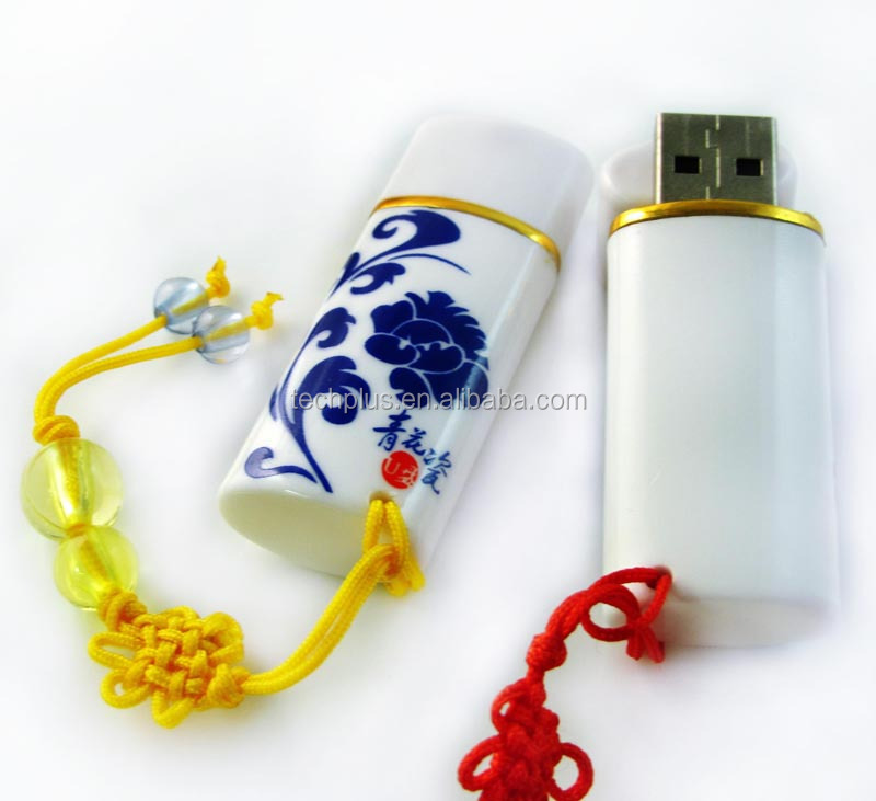 Ceramics pendrive top selling usb flash drives bulk cheap, usb stick logo print