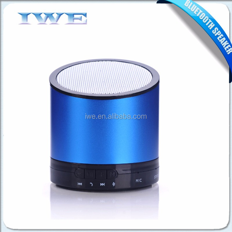 high quality hot sale MINI rechargable wireless loudspeaker parlantes bluetooth speaker 2016