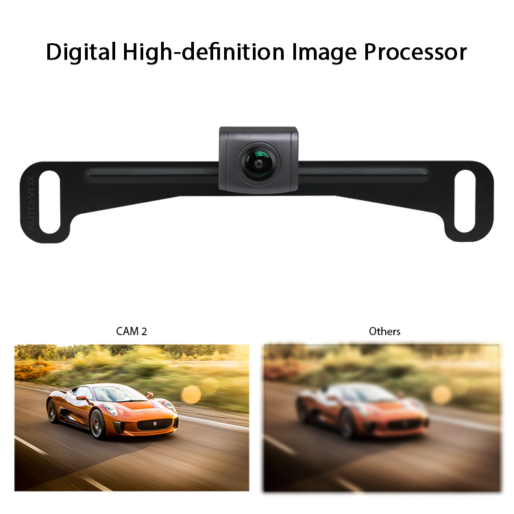 IP67 waterproof 180 degree Car backup camera car reverse camera