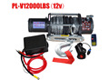 TOP SALE 2015 4X4WD 12V/24V USED ATV UTV JEEP ELECTRIC WINCH 12000LB WITH Synthetic rope