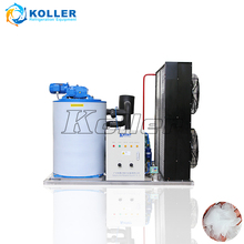 3 Tons Dry And Clean Flake Ice Making Machine / Flake ice Maker For Fishery / Farm