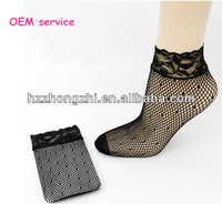 women summer fishnet lace ankle socks