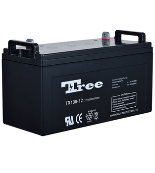 Maintenance free solar station battery 12v 100ah solar storage battery