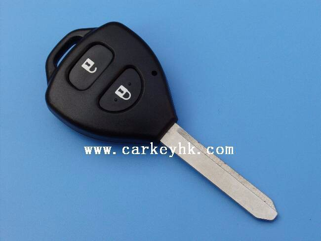 Novel Item &Promotion Toyota Camry 2 buttons remote key shell toy47 for Fake Car Key