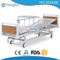 RELIABLE SUPPLIER Strong team manual adjustable cheap hospital bed