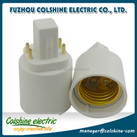 Buy E27 to G24 lamp adapter Base G24 with 4 pins G24 to E27 ...