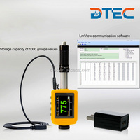 DTEC DH110 Color Display Pocket-size Leeb Hardness Tester, 1000 Groups Storage,Data Pro Software,D/DL Probe, Higher Class Type.