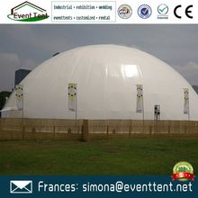 Hurricane proof prefab prefabricated residential houses inflatable lawn dome tent
