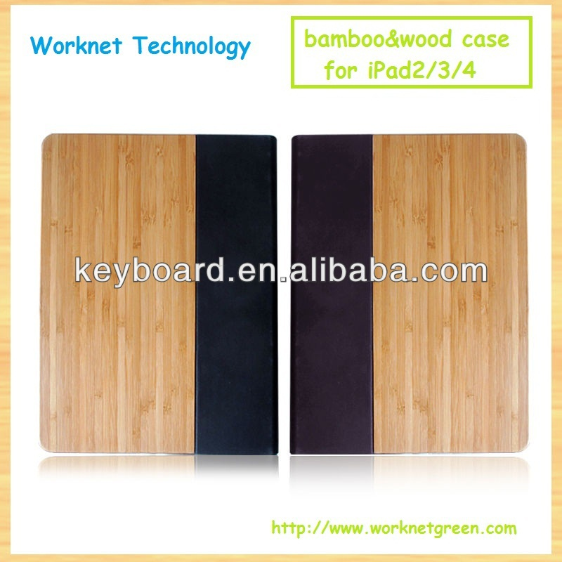 New product for ipad 2/3/4 natural handmade case