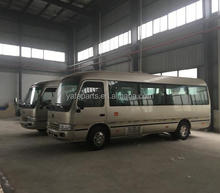 17 seats stock coaster bus to sale