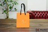 recycled paper bag with logo print paper cloth bag paper bag decorations