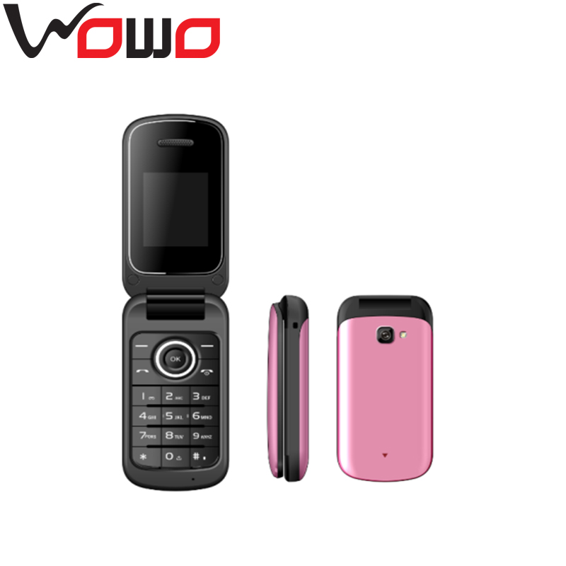 New stylish cheap 1.77 inch LCD multi colors dual sim dual standby flip mobile cell feature phone X19
