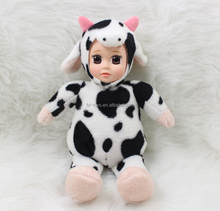 YW-XR1701-22 Cow dolls Animal sleeping toys