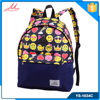 Wholesale fashionable name brand girls school backpack