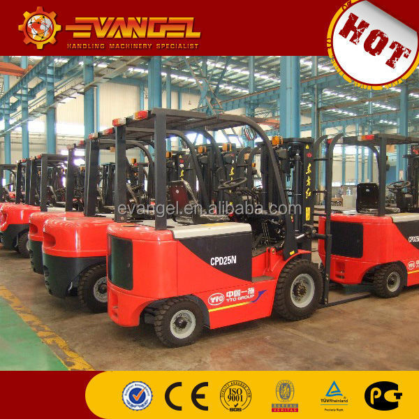 CE/ISO new mini 25ton small electric battery forklift