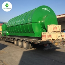 Waste PP/PE/ABS Plastic Garbages/Bags Pyrolysis Recycling Machine To Diesel Used in Motors/Generators