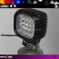2014 hot led fog lamp square 48w led work light for truck off road vehicle heavy duty fork trains boats bus
