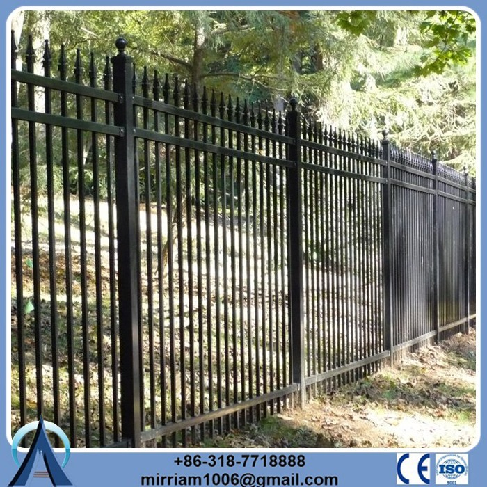 Eco Friendly docrative/ornament/adorn steel/iron fence