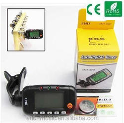 Professional 3 in 1 LCD Digital Acoustic Guitar Tuner Metronome Tone Generator EMT-320 Guitar Parts & Accessories