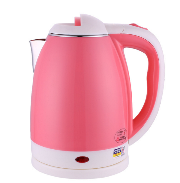 2017 wholesale novel pink hotel water electric kettle