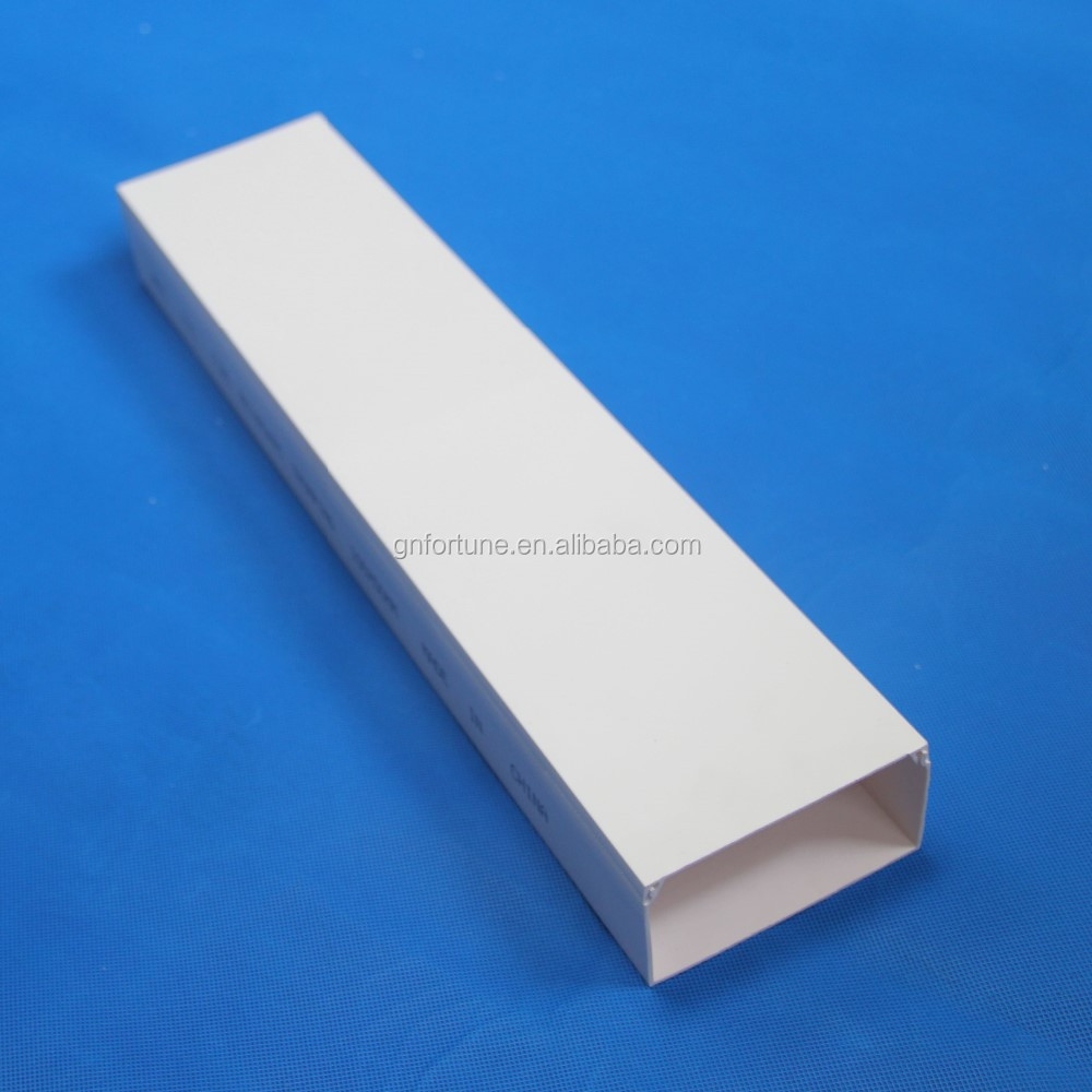 Free samples solid pvc cable raceway duct trunking buy
