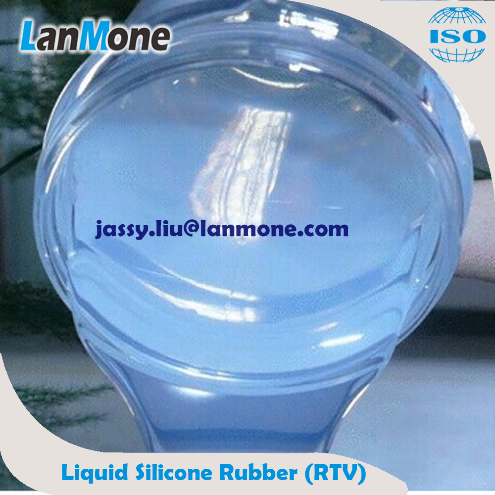 Low Viscosity, Two-component, Addition Cure, Rubber Raw Material RTV Silicone Rubber for mold making