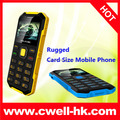 1.77 Inch Rugged Style Ultra Slim Credit Card Size S2 Melrose Mini Phone