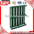 Euro type steel wire pallet stacking container